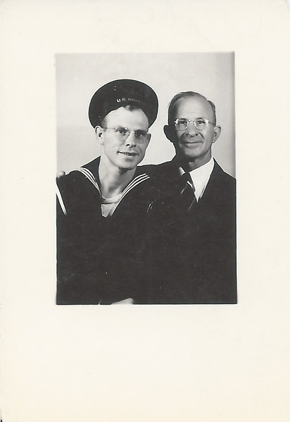 Clyde and Dad Lafayette Romines