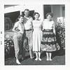 Betty Eugene Vivian & Dorice Sept 1959 Taft ?