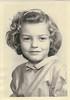 Betty Diane Romines 5 yrs 11 moMarch 1953 Kindergarten