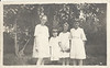 Cousin Hazel Ripley, Pearl Romines, Cousin Leora Ripley, Marguerite Romines Hartford,Arkansas Cousins on Nannie Pollock Romines Side