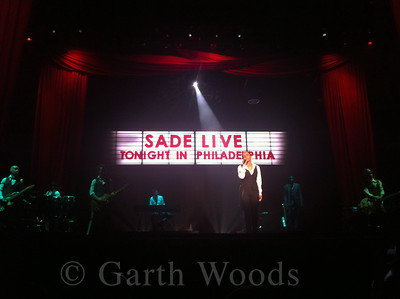 Sade at the Wells Fargo Center in Philadelphia on June 19, 2011