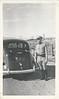 Chester Scott CA HWY Patrol Car Mojave 1940's