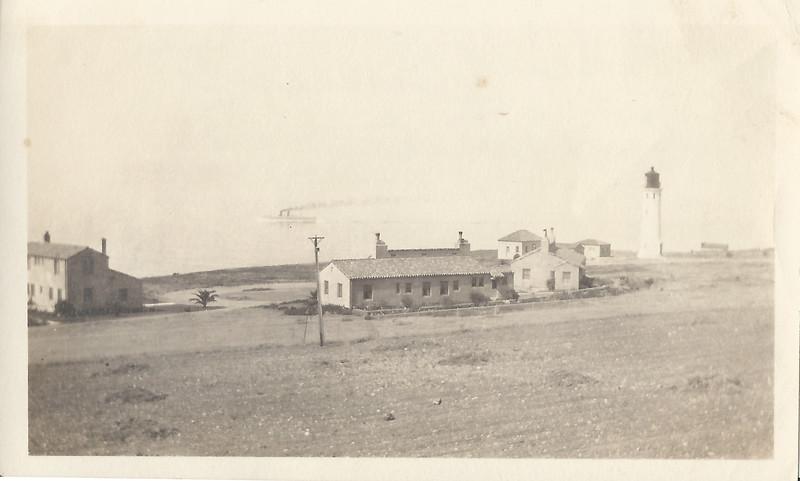 1930 September Point Vicente Lighthouse