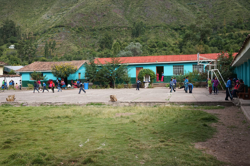 Another school we visited- Huaran