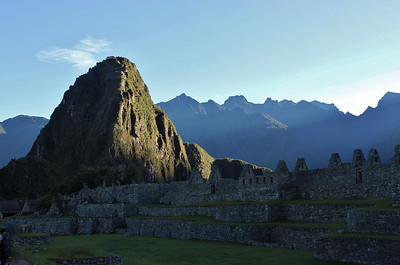 First Light on Wayna Picchu