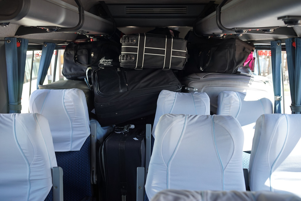 But our van is PACKED- we have no room to buy anything.