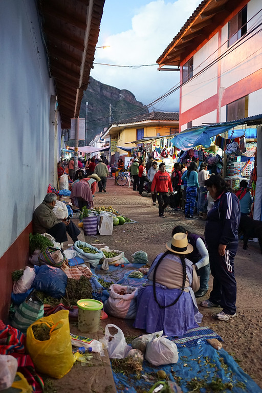 There was an amazing amount of food and shops lining every street.