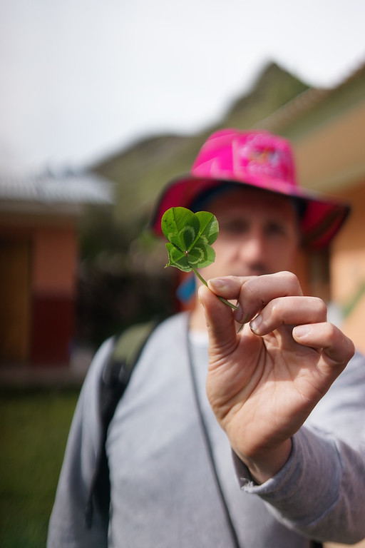 Brandon was certainly one of my favorite characters on this trip. He found a 4 leaf clover and I wish him all the luck!