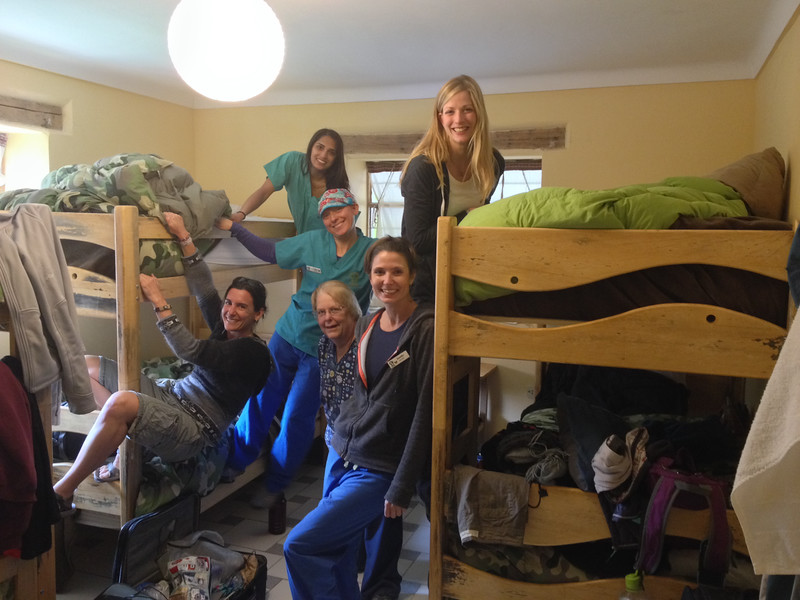"A last shot of the occupants of the ""APU"" room at Llamapack Hostel. The 6 of us did so well together! Such great people."