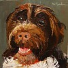Rooney 6x6 oil on panel