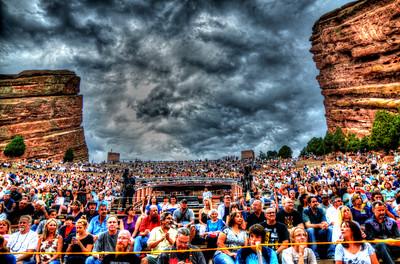Peter Frampton and B.B. King perform at Red Rocks Amphitheatre on Aug. 20, 2013. Photos by Todd Radunsky, heyreverb.com.