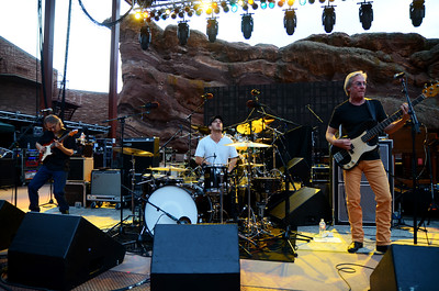 Peter Frampton and B.B. King perform at Red Rocks Amphitheatre on Aug. 20, 2013. Photos by Todd Radunsky, heyreverb.com.
