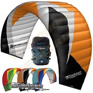 Peter Lynn Charger II All Terrain Closed Cell Foil Kite Kitesurfing SnowKiting Landboarding
