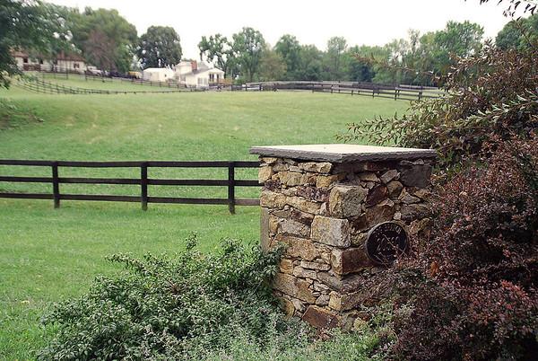 Dog Branch Farm entrance.
