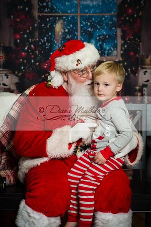 Peyton Eggers Santa
