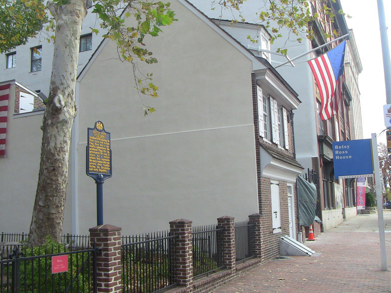 The Betsy Ross house.