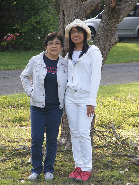 With my precious and dear friend Edna (Langhorne, Philadelphia)