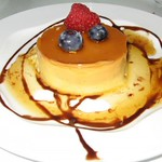 *note: NOT my pic, but from http://www.filipinofoodonline.co.uk/leche-flan-recipe.html  https://foodsofallkinds.wordpress.com/2015/11/23/desserts-types-of-leche-flan/  Difference between Spanish Flan and Filipino Flan Leche Flan? http://www.lmcc-mexico.com/fsves/2537   http://asianinamericamag.com/2014/03/leche-flan-and-its-philippine-origins/ Old cookbooks on my shelves, which I brought from the Philippines ( belonging to my late mother) prominently talk about flan being around during Spain's colonial rule which lasted  nearly 500 years. It is no wonder the strong imprint of Spanish flavors are obvious on many Filipino dishes like this leche flan.   similar to Mexican's https://salphotobiz.smugmug.com/Food/Latino-American-Dishes/i-6F6bBCB/A