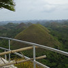 Bohol Chocolate Hills view from top 3