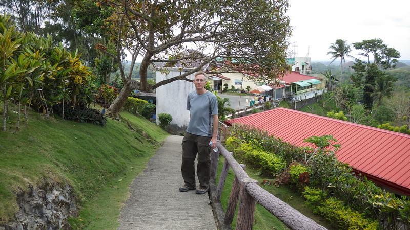 Bohol Chocolate Hills path to top