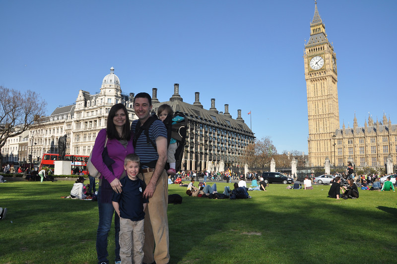 A beautiful day in London