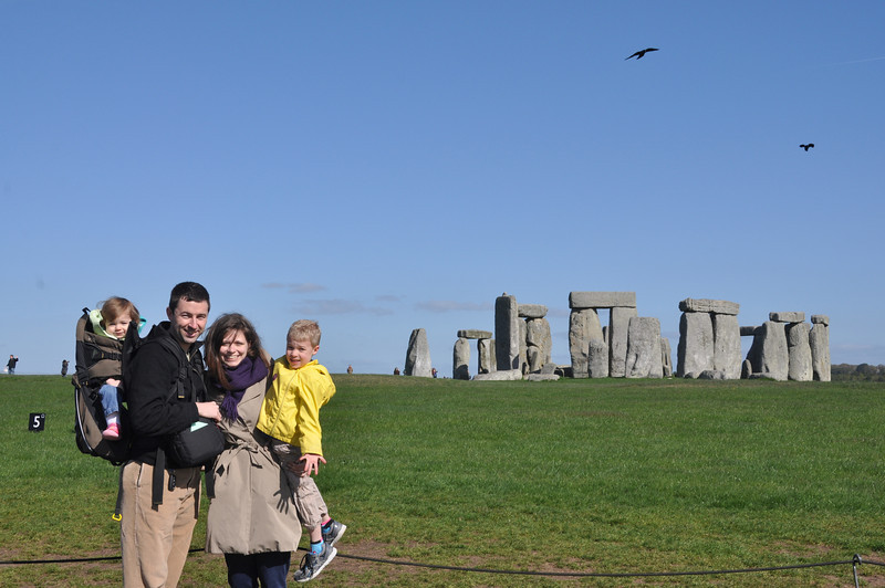 A wonderful day at Stonehenge