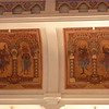Ceiling frescoes in King's reception hall, Royal Palace