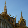 Royal Palace rooftops and spires
