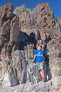Noah at Squaw Peak
