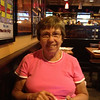 At TGI Fridays at Penn Station, returning from NYC