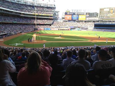 Marie's birthday Yankee game.  That is Derek Jeter at bat.