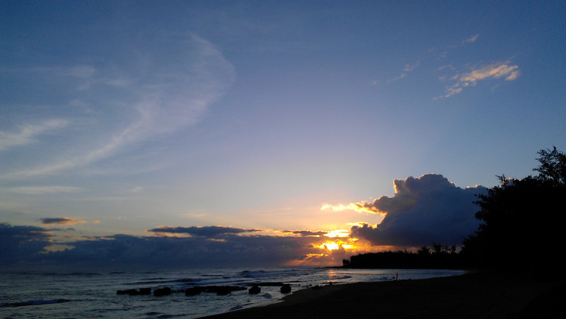sunrise April 27, 2012