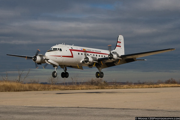 December 21 - Berlin Airlift Historic Foundation C-54 returns to Floyd Bennett Field for winter maintenance.