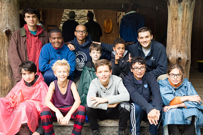 Campers at Timberlake pose for cabin photos during the first full day of the second session of camp, July 24, 2017. Timberlake, a summer camp for boys, is one of seven Farm & Wilderness camps in Plymouth, VT, based on the Quaker values of simplicity, honesty, self-reliance, and respect for all life. © Michael Forster Rothbart Photography www.mfrphoto.org • 607-267-4893 34 Spruce St, Oneonta, NY 13820 86 Three Mile Pond Rd, Vassalboro, ME 04989 info@mfrphoto.org Photo by: Michael Forster Rothbart Date:  7/24/2017 File#:  Canon — Canon EOS 5D Mark III digital camera frame C29141