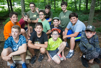 Boys arrive at Timberlake, get welcomed by counselors at the Trading Post, say goodbye to their parents, move into their cabins and play games and roast marshmallows on the first day of camp for August session, July 23, 2017. Timberlake, a summer camp for boys, is one of seven Farm & Wilderness camps in Plymouth, VT, based on the Quaker values of simplicity, honesty, self-reliance, and respect for all life. © Michael Forster Rothbart Photography www.mfrphoto.org • 607-267-4893 34 Spruce St, Oneonta, NY 13820 86 Three Mile Pond Rd, Vassalboro, ME 04989 info@mfrphoto.org Photo by: Michael Forster Rothbart Date:  7/23/2017 File#:  Canon — Canon EOS 5D Mark III digital camera frame C20210