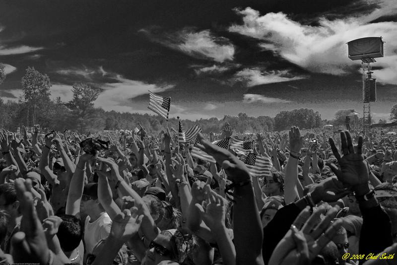 4th of July Crowd -  Rothbury Festival 2008