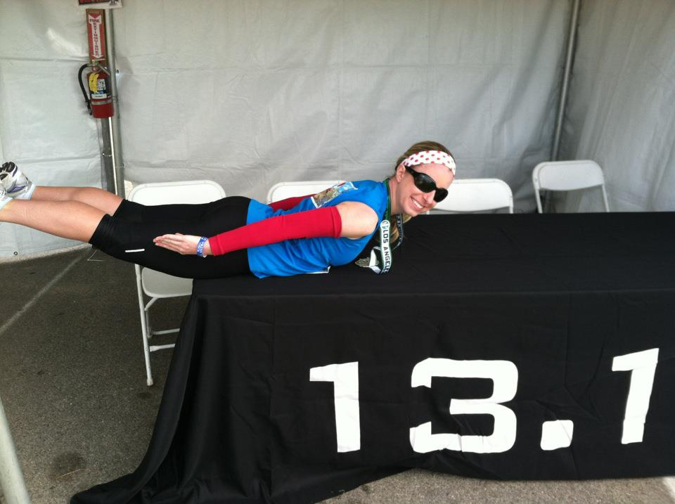 first I ran 13.1, then I planked it!!  Photographer's Name: Stephanie Zynda Photographer's City and State: Los Angeles, CA  To vote in favor for this photo, simply add a comment below. You can also share this photo on Facebook and Twitter using the buttons above.
