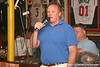 photo by Tim Casey<br /> <br /> Gator Country Senior Columnist/Radio Host Mark McLeod speaks to guests during the seventh Gator Country Caravan stop on Tuesday, July 29, 2008 at the Press Box Sports Bar in Tampa, Fla.