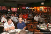 photo by Tim Casey<br /> <br /> Guests listen to the panel of speakers during the seventh Gator Country Caravan stop on Tuesday, July 29, 2008 at the Press Box Sports Bar in Tampa, Fla.