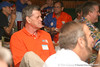 photo by Tim Casey<br /> <br /> Florida basketball great Gary Keller listens during the seventh Gator Country Caravan stop on Tuesday, July 29, 2008 at the Press Box Sports Bar in Tampa, Fla.