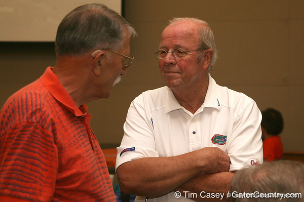 photo by Tim Casey<br /> <br /> Hundreds of guests enjoyed the Marion County Gator Club's Gator Gathering (and ninth stop of the Gator Country Caravan) on Thursday, July 31, 2008 at Central Florida Community College in Ocala, Fla.