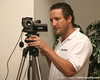 photo by Tim Casey<br /> <br /> Gator Country Video Director Brenden Martin broadcasted the Marion County Gator Club's Gator Gathering (and ninth stop of the Gator Country Caravan) on Thursday, July 31, 2008 at Central Florida Community College in Ocala, Fla.