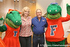 photo by Tim Casey<br /> <br /> Alberta and Albert pose for a photo during the Marion County Gator Club's Gator Gathering (and ninth stop of the Gator Country Caravan) on Thursday, July 31, 2008 at Central Florida Community College in Ocala, Fla.