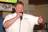 """photo by Tim Casey<br /> <br /> Gator Country Recruiting Coordinator """"Hollywood"""" Bob Redman speaks with guests during the eighth stop of the Gator Country Caravan on Wednesday, July 30, 2008 at the Friendly Confines Sports Restaurant in Winter Park, Fla."""
