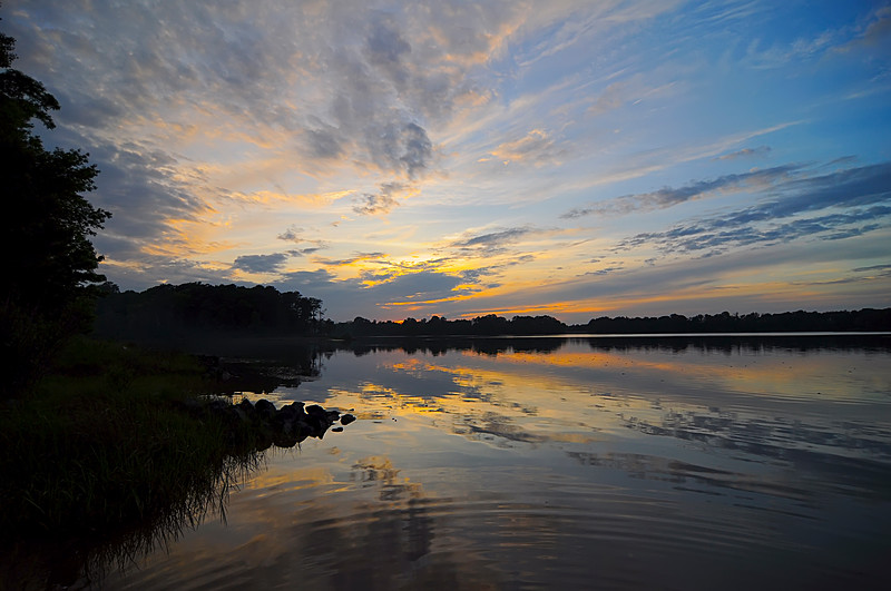 """May 24th,  We had a very nice sunset over Goose Creek campground on Patuext River this weekend.  I hope you enjoy as much as we did.   <a href=""""/gallery/2239236_B6HpQ#545062365_RSwMM"""">Click Here</a>"""