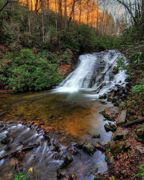 "Indian Creek Falls,  Deep Creek, NC<br /> <br /> Map of hike: <a href=""http://maps.google.com/maps/ms?hl=en&ie=UTF8&msa=0&msid=104053193349078639589.0004793a091e4f8996e5e&z=16"">http://maps.google.com/maps/ms?hl=en&ie=UTF8&msa=0&msid=104053193349078639589.0004793a091e4f8996e5e&z=16</a>"