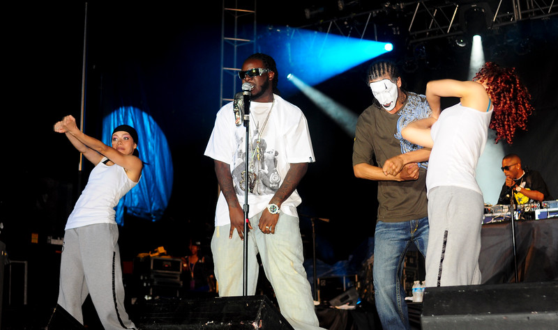 """June 6th,  T Pain and Flo Rida came to Regency Stadium (Blue Crabs Field).   It wasn't to bad of a show over all.  Lighting was a little tough do to skin tones, but concerts are always a challenge.  <a href=""""/gallery/8467907_ig9Sc#556727974_SL2Wb"""">Click Here</a>"""