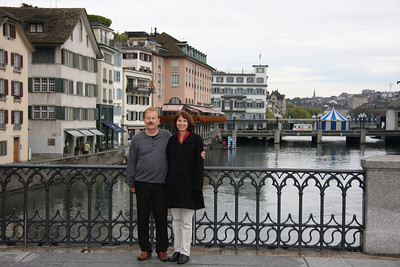 Zurich Couple - Before * * Note there are two following renditions of rendered photographs. Make sure you look at both renditions and compare.