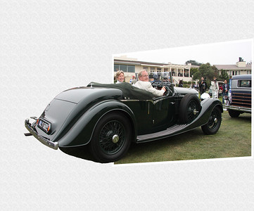 In this example the Brooks are entering the exciting day of having their Derby Bentley on display at Pebble Beach.