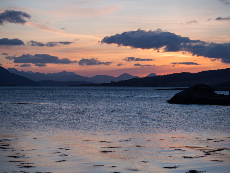 Sunset over the Loch